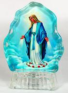 Estatuilla Virgen Milagrosa Luminosa